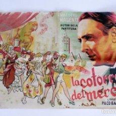 Cataloghi di Musica: LA COTORRA DEL MERCAT. LIBRO DE PACO BARCHINO. MAESTRO MAGENTI. ANTIGUO LIBRITO O REVISTA. VALENCIA.. Lote 292383343