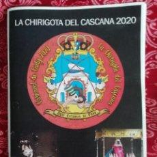 Cataloghi di Musica: CARNAVAL DE CÁDIZ LIBRETO CHIRIGOTA AQUÍ ESTAMOS DE PASO 2020. Lote 294169243
