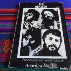 Catálogos de Música: THE BEATLES ANTOLOGÍA DE SUS MEJORES TÍTULOS EN ACORDES CIFRADOS PARA GUITARRA VOL Nº 1. 1972.. Lote 294377458