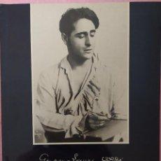 Catálogos de Música: GIACOMO LAURI-VOLPI - HOMENAJE A LA MEMORIA DEL TENOR - EN EL X ANIVERSARIO DE SU FALLECIMIENTO. Lote 295494668