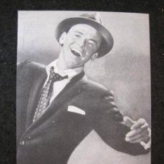 Catálogos de Música: FRANK SINATRA-DISCOS CAPITOL RECORDS-PUBLICIDAD ANTIGUA-VER FOTOS-(K-4445). Lote 295509028