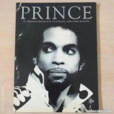 Catálogos de Música: PRINCE - SU PRIMERA BIOGRAFIA ILUSTRADA. JOHN W. DUFFY. Lote 295512233
