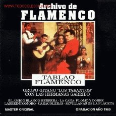CDs de Música: CD ARCHIVO FLAMENCO-TABLAO FLAMENCO. Lote 26243314