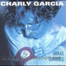 CDs de Música: CHARLY GARCIA OBRAS CUMBRES 36 CANCIONES EN 2 CASSETTES SUI GENERIS . SERU GIRAN. Lote 19514523