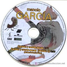 CDs de Música: MANOLO GARCIA ··· CARBON Y RAMAS SECAS / CARBON Y RAMAS SECAS (VERSION 2) - (CD SINGLE). Lote 21340465