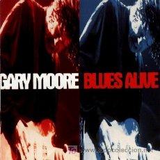 CDs de Música: GARY MOORE ··· BLUES ALIVE - (CD ORIGINAL). Lote 21444363