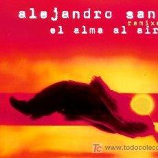 CDs de Música: ALEJANDRO SANZ ··· EL ALMA AL AIRE - (CD MAXI). Lote 21340827