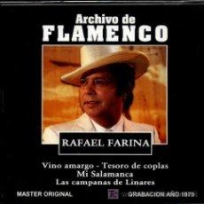 CDs de Música: CD ARCHIVO FLAMENCO - RAFAEL FARINA. Lote 26243324