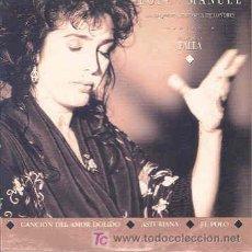 CDs de Música: LOLE Y MANUEL - CANCION DEL AMOR DOLIDO/ASTURIANA/EL POLO - CDSINGLE PROMO DE 1992. Lote 4018034