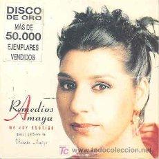 CDs de Música: REMEDIOS AMAYA - ME VOY CONTIGO - CDSINGLE DE 1997. Lote 4174956