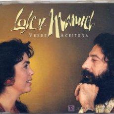 CDs de Música: LOLE Y MANUEL / VERDE ACEITUNA (CD SINGLE DE 1994). Lote 4190721