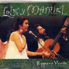 CDs de Música: LOLE Y MANUEL / ROMERO VERDE (CD SINGLE DE 1995). Lote 4222906