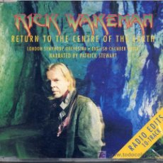 CDs de Música: RICK WAKEMAN / RETURN TO THE CENTRE OF THE EARTH (CD EMI 1999). Lote 14428425