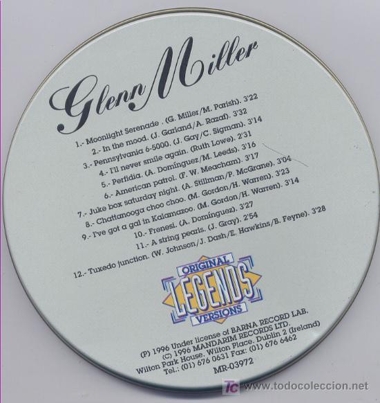 CDs de Música: GLENN MILLER .. CDS - Foto 2 - 15669161
