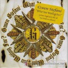 CDs de Música: GWEN STEFANI-WHAT YOU WAITING FOR? CDSINGLE EDITADO POR INTERSCOPE PROMOCIONAL 2004. Lote 4620910