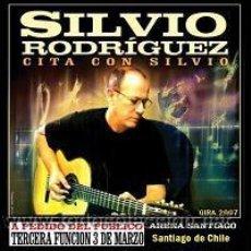 CDs de Música: SILVIO RODRIGUEZ EN ARENA SANTIAGO (SANTIAGO DE CHILE, GIRA 2007). Lote 213404986