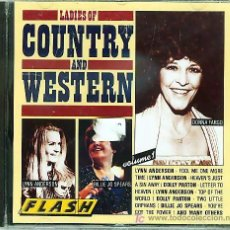 CDs de Música: CD COUNTRY - LADIES OF COUNTRY & WESTERN. Lote 18924159