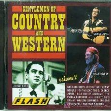 CDs de Música: CD COUNTRY - GENTLEMEN OF COUNTRY & WESTERN - VOL.2. Lote 18924149