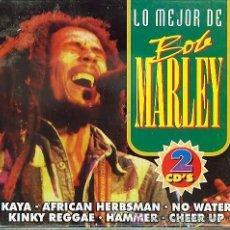 CDs de Música: 2 CD ESTUCHE DOBLE - BOB MARLEY - KAYA. Lote 27557944