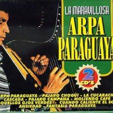 CDs de Música: 2 CD ESTUCHE DOBLE - MARAVILLOSA ARPA PARAGUAYA. Lote 18233602