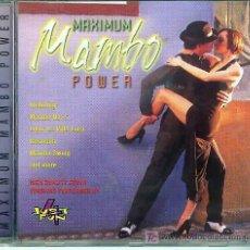 CDs de Música: 2 CD ESTUCHE - MAXIMUM MAMBO POWER. Lote 18188282