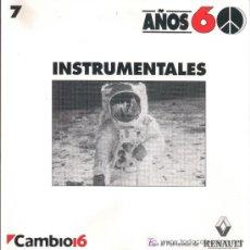 CDs de Música: CD AÑOS 60 - INSTRUMENTALES - IMPECABLE - ORIGINAL (NO REPRODUCCIÓN).. Lote 26998301