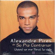 CDs de Música: ALEXANDRE PIRES / USTED SE ME LLEVÓ LA VIDA (2001). Lote 5609187