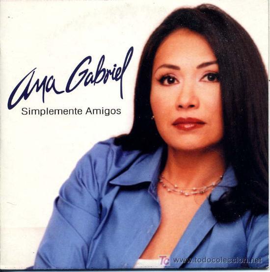 ANA GABRIEL / SIMPLEMENTE AMIGOS (CD SINGLE 2001) (Música - CD's Latina)
