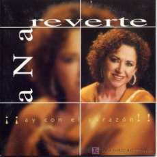 CDs de Música: ANA REVERTE / ¡¡ AY CON EL CORAZÓN !! (CD SINGLE 2001). Lote 5627695