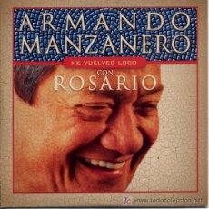 CDs de Música: ARMANDO MANZANERO Y ROSARIO / ME VUELVES LOCO (CD SINGLE 2002). Lote 5628664