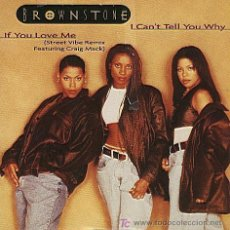 CDs de Música: BROWSTONE / I CAN´T TELL YOU WHY - IF YOU LOVE ME (CD SINGLE 1995). Lote 5727251