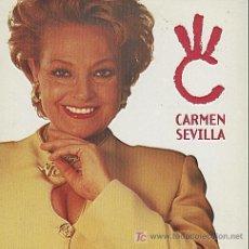 CDs de Música: CARMEN SEVILLA / LA LUNA ME ENGAÑO - 3 TEMAS (CD SINGLE 1997). Lote 5771255
