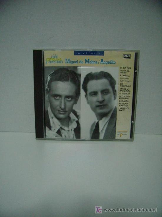 ANGELILLO Y MIGUEL DE MOLINA (Música - CD's Flamenco, Canción española y Cuplé)