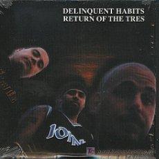 CDs de Música: DELINQUENT HABITS / RETURN OF THE TRES (CD SINGLE 2001). Lote 5827260