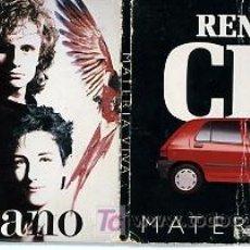 CDs de Música: MECANO DESCANSO DOMINICAL. MINI CD PROMOCIÓN RENAULT CLIO. CUATRO CANCIONES. Lote 27155631