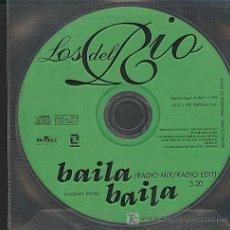 CDs de Música: LOS DEL RIO / BAILA BAILA (CD SINGLE 1999). Lote 5867027