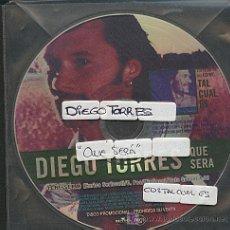 CDs de Música: DIEGO TORRES / QUE SERA (CD SINGLE 1999). Lote 5868283