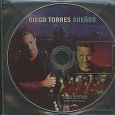 CDs de Música: DIEGO TORRES / SUEÑOS (CD SINGLE 2001). Lote 5868300