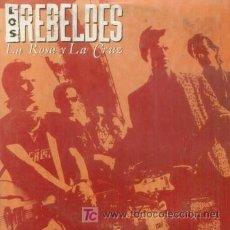 CDs de Música: LOS REBELDES - LA ROSA Y LA CRUZ - CD SINGLE RARO DE PROMOCION - NEO ROCKABILLY. Lote 5893223