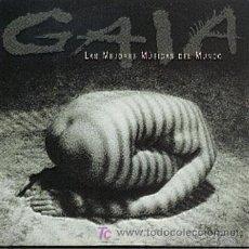 CDs de Música: GAIA / LAS MEJORES MÚSICAS DEL MUNDO (VARIOS ARTISTAS) (CD SINGLE 1998). Lote 195347191