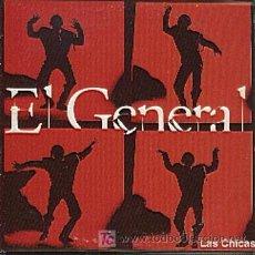 CDs de Música: EL GENERAL / LAS CHICAS (3 VERSIONES) (CD SINGLE 1995). Lote 6078096