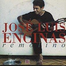 CDs de Música: JOSÉ LUIS ENCINAS / REMOLINO - VERSIÓN (CD SINGLE 2000). Lote 6215662