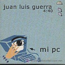 CDs de Música: JUAN LUIS GUERRA / MI PC (CD SINGLE 1998). Lote 6247273