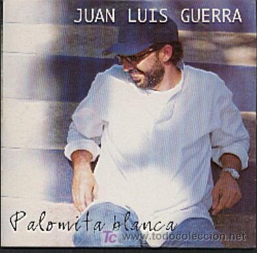 JUAN LUIS GUERRA / PALOMITA BLANCA (CD SINGLE 1998) (Música - CD's Latina)