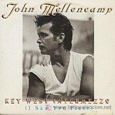 CDs de Música: JOHN MELLENCAMP / KEY WEST INTERMEZZO (I SAW YOU FIRST) - VERSIÓN (CD SINGLE 1996). Lote 6287881