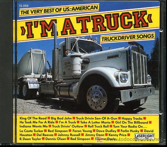 DAVID HOUSTON / LA COSTA TUCKER / RED SIMPSON / FARON YOUNG - I'M A TRUCK - 1988 - COMO NUEVO (Música - CD's Country y Folk)