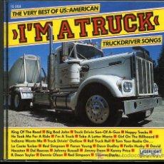 CDs de Música: DAVID HOUSTON / LA COSTA TUCKER / RED SIMPSON / FARON YOUNG - I'M A TRUCK - 1988 - COMO NUEVO. Lote 6439511