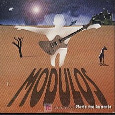 CDs de Música: MODULOS / NADA ME IMPORTA (CD SINGLE 1999). Lote 14277978