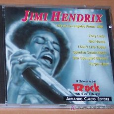 CDs de Música: CD: JIMI HENDRIX LIVE AT LOS ANGELES FORUM1969. Lote 6723865