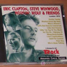 CDs de Música: CD: ERIC CLAPTON, STEVE WINWOOD, HOWLIN' WOLF & FRIENDS : LONDON 1970. Lote 19841543